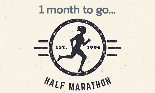 1 month to go!